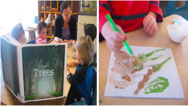 Tree Project at Acorn School