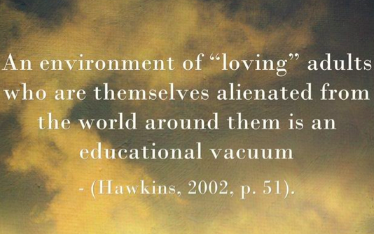 Hawkins and alienation