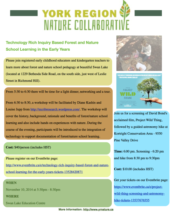 YRNature Events Registration