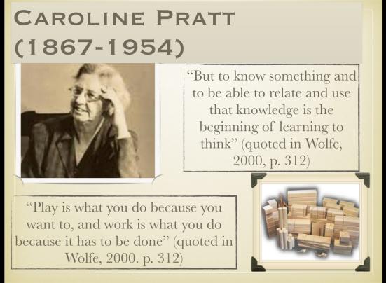 Caroline Pratt