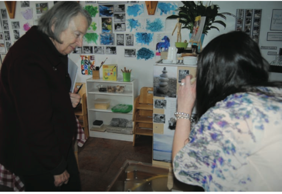 Lella Gandini at Acorn School