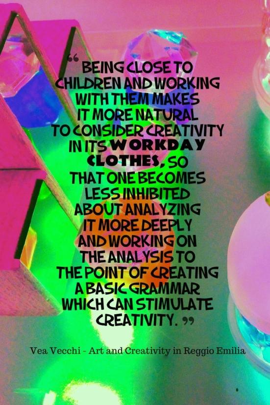 Vea Vecchi on Creativity