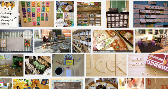 Google images Reggio inspired Literacy