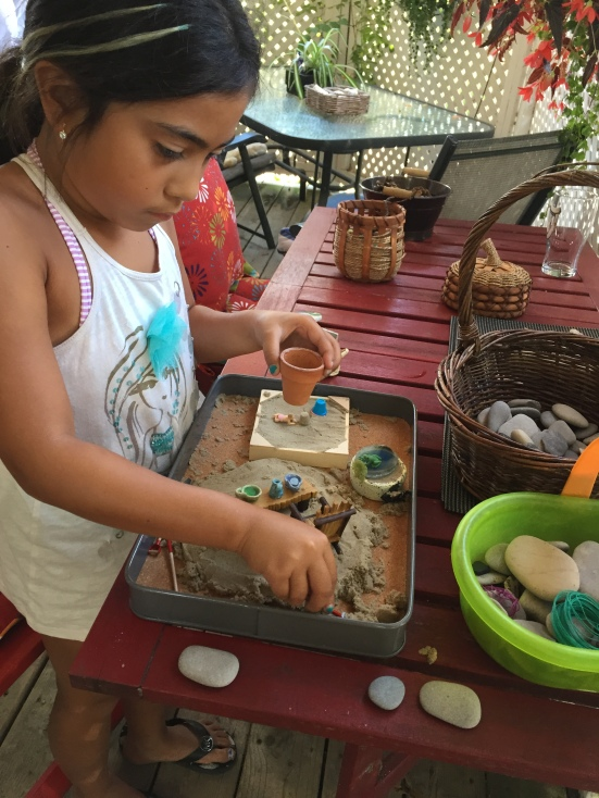 Kalina's small world play