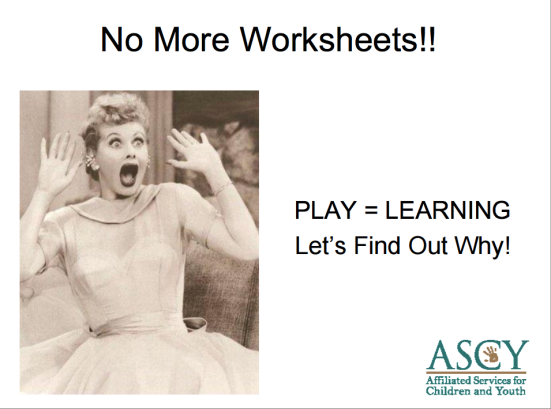 No More Workheets