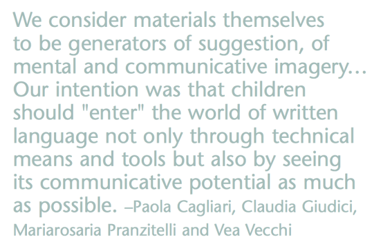 Reggio educators on written language