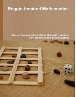 Reggio inspired math book cover
