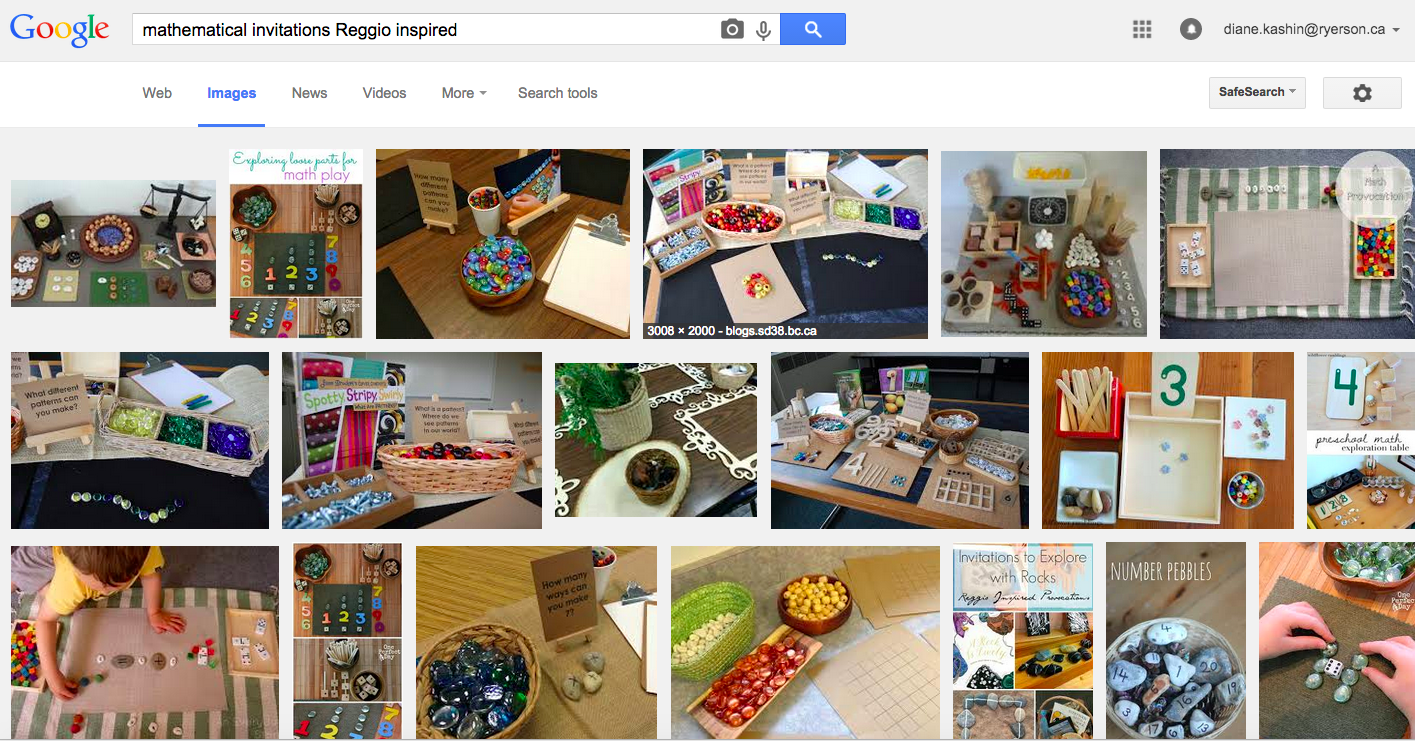 Worksheets don't Work: Try Reggio-Inspired Mathematics! | Technology ...