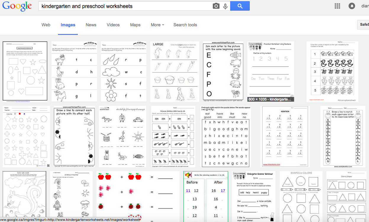 Worksheets Dont Work Try Reggio Inspired Mathematics Technology