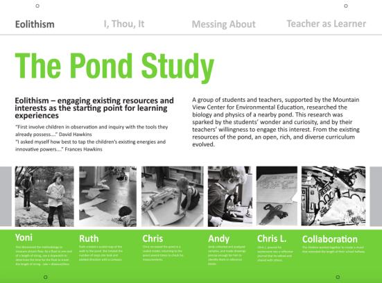 The Pond Study
