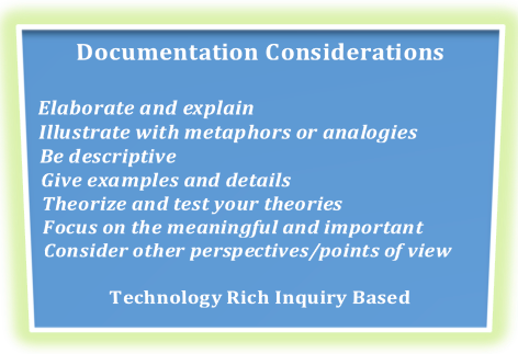 Documentation Considerations