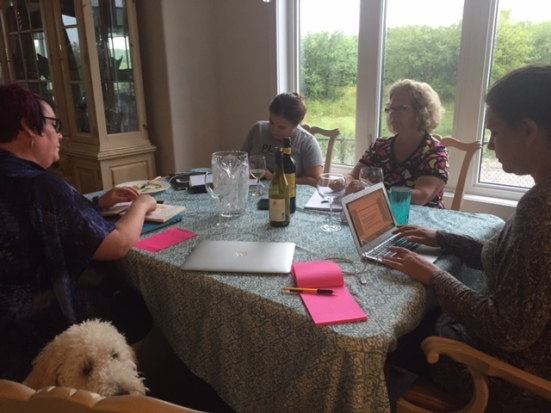 Dialogue and wine