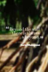 Possibilities in Outdoor Play: Beyond the Fence, there is always aBEYOND!