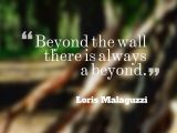 Possibilities in Outdoor Play: Beyond the Fence, there is always a BEYOND!