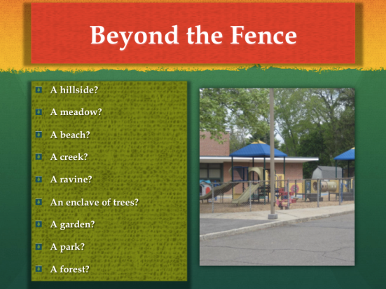 What's Beyond Your Fence?