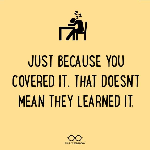 Just Because You Covered It.
